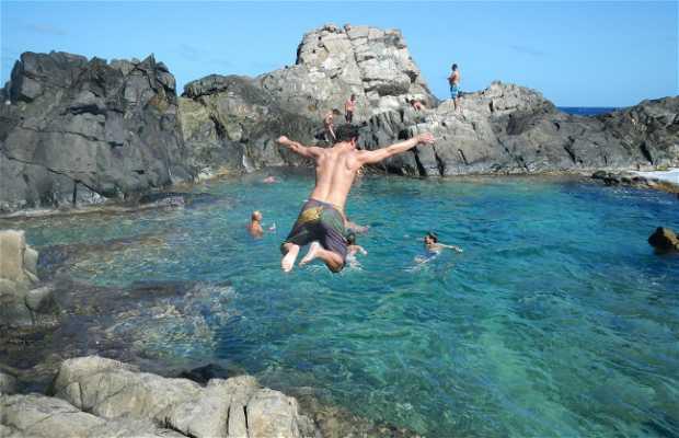 Piscina naturale ad Aruba