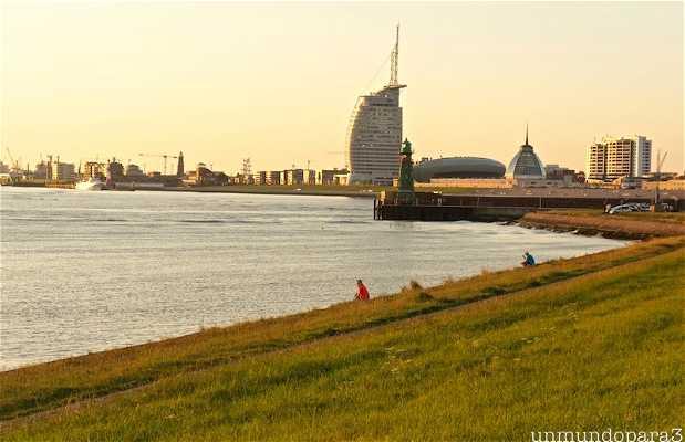 Malecón de Bremerhaven