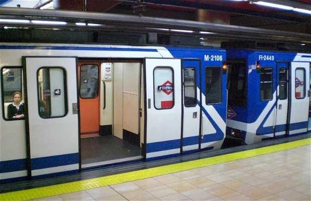 La metro di Madrid