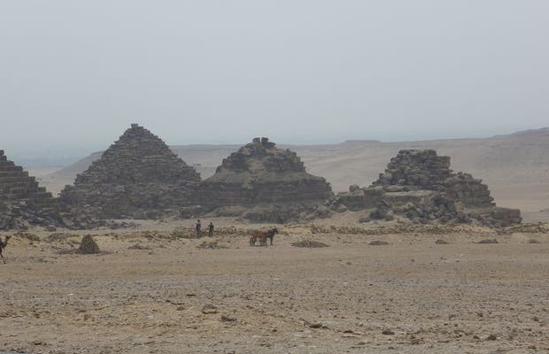 Pyramids of the Queens