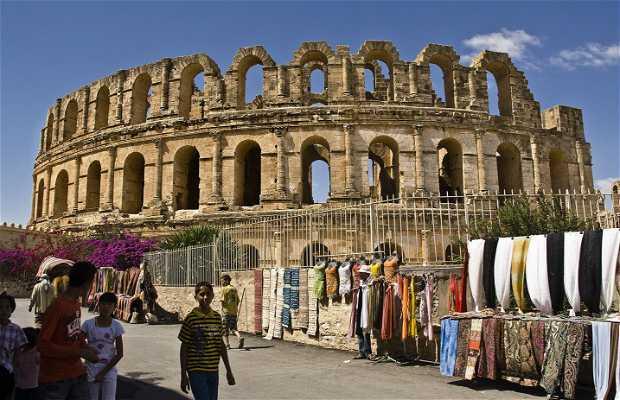 Anfiteatro romano de El Jem