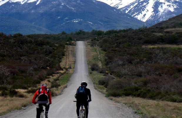 Bicicleta en Puerto Natales
