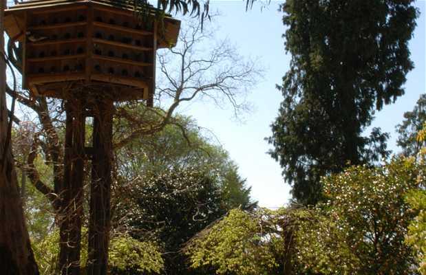Pigeonniers dans le parc de la Alameda