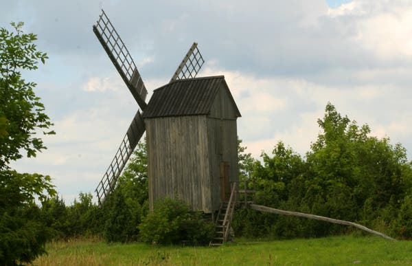 Les moulins à vent de Saaremaa