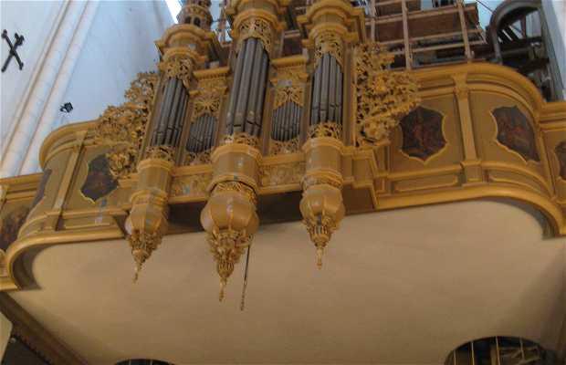 Órgano de la Catedral de Riga