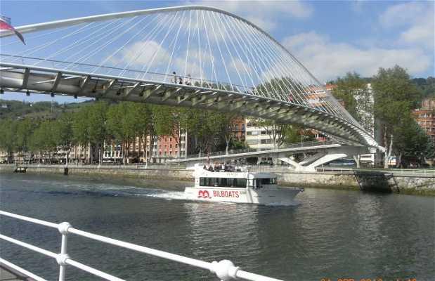 Naviguer par la Rivière de Bilbao