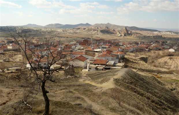 Vista panorámica desde Çavusin