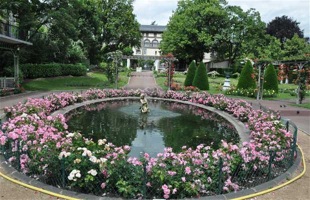 Roseraie du jardin lecoq clermont ferrand 1 exp riences - Petit jardin tropical clermont ferrand ...
