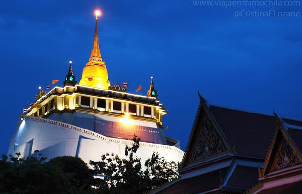 Wat Saket (Monte d'oro)