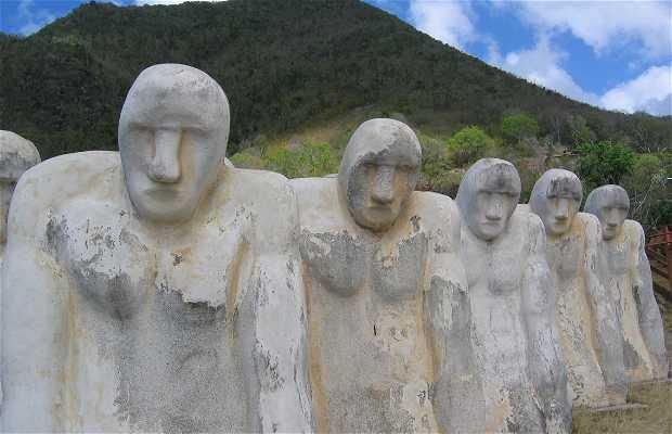 Monumento a Anse Cafard