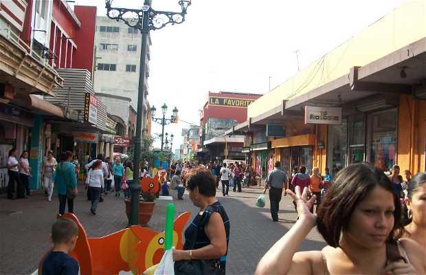 La calle central