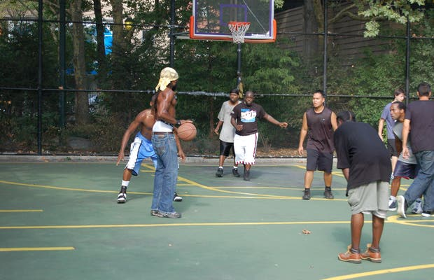 Baloncesto callejero NY
