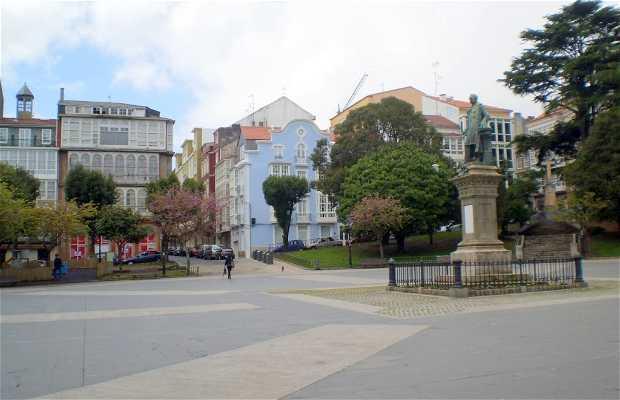 Praza de Amboaxe di Ferrol