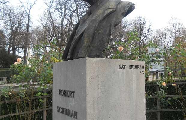 Busto de Robert Schuman