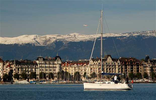 Cruise on Lake Geneva