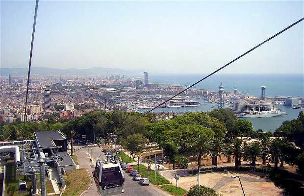 Teleferica di Montjuïc a Barcellona