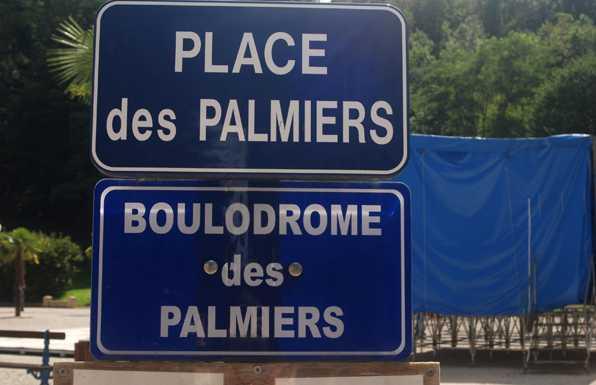 place des Palmiers