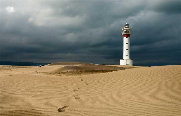Punta y Faro del Fangar