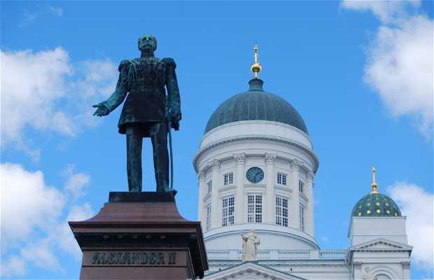 Statue d'Alexandre II