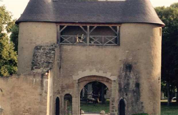 Ancienne porte du château de Vic sur Seille - 57630 Vic sur Seille
