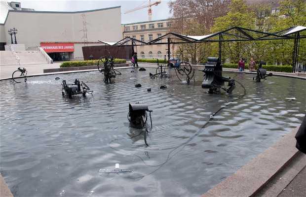 Fontaine de Tinguely