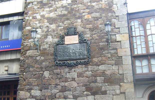 Homenaje al Batallon de Clavijo