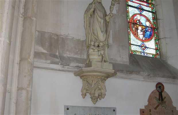 Estatua de Saint-Nicolas