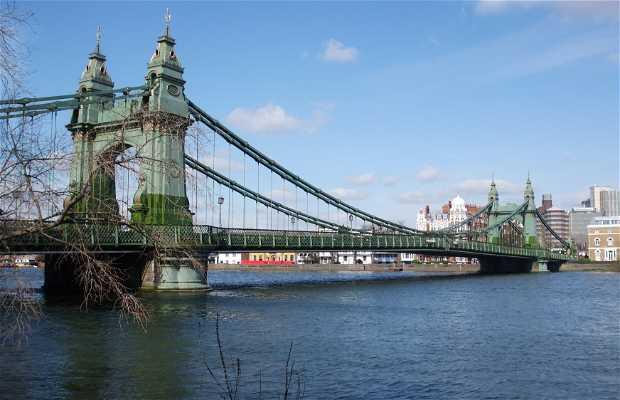 The Hammersmith Bridge