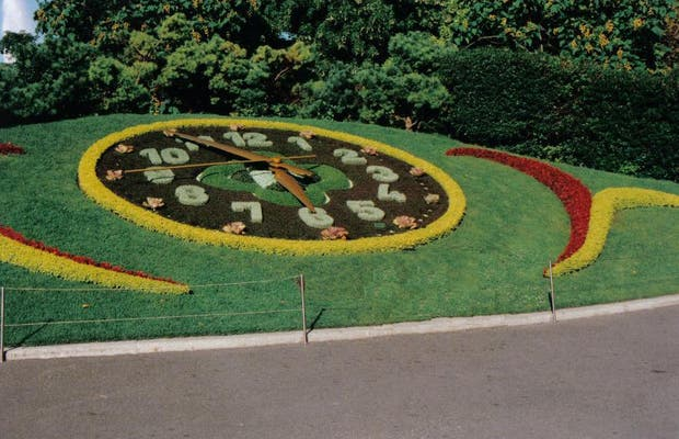 Flower Clock (L'horloge Fleurie)