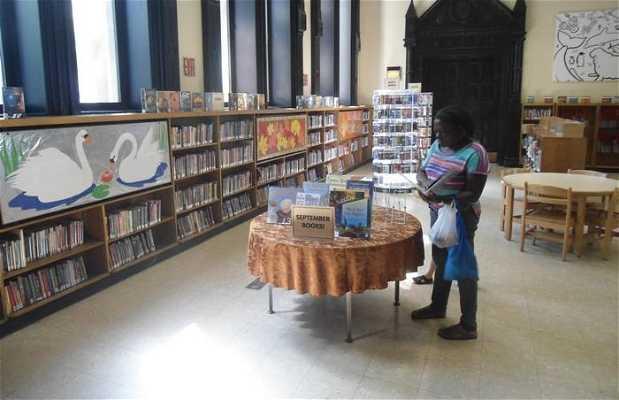 Libreria publica en Greenwich