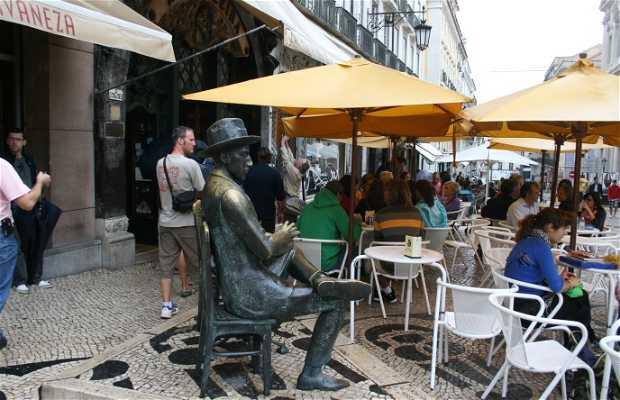 Rua Garret y Plaza del Chiado