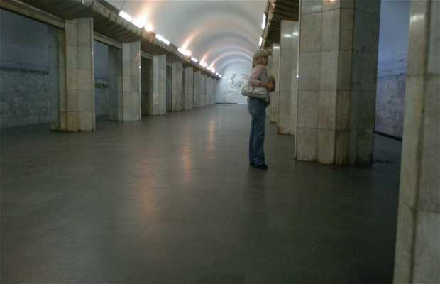 El metro en Ereván