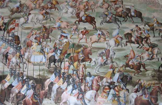 Pinturas y frescos en El Escorial