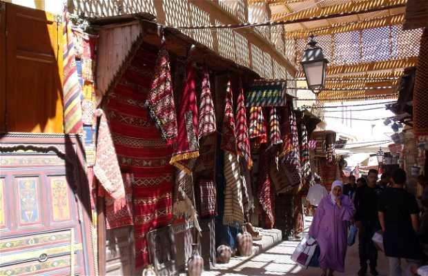 Route des artisans (la Médina)