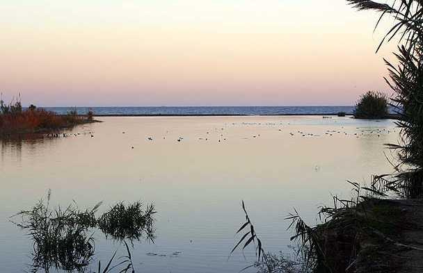 L'embouchure de la Rívière Vélez