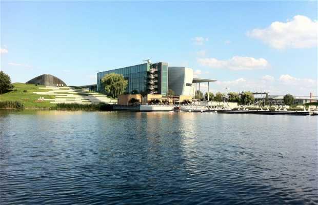 Autostad Wolfsburg Alemania