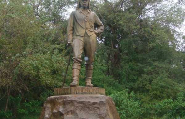 Estatua Del Dr. Livingston