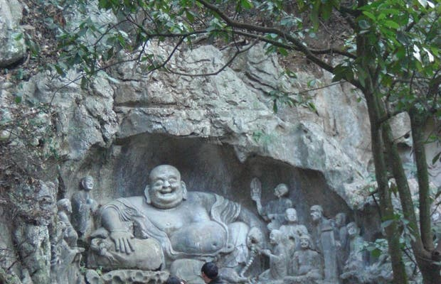 Caves in the Lingyin Temple