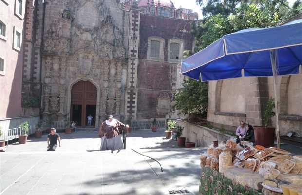 Iglesia de San Francisco en la Ciudad de México