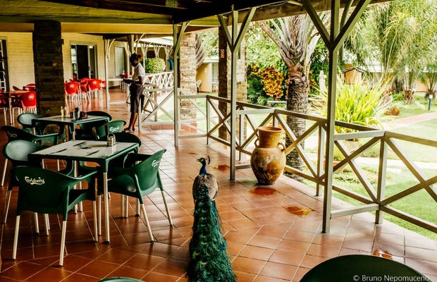 Restaurante Omashare River Lodge
