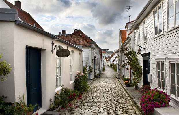 Gamle Stavanger - Casco antiguo