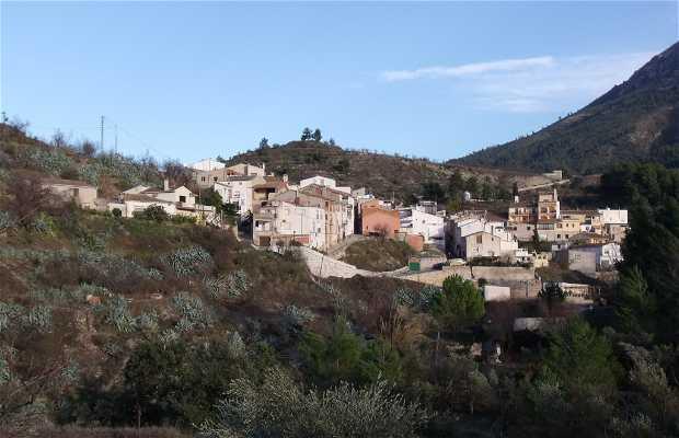 Pueblo de Quatretondeta