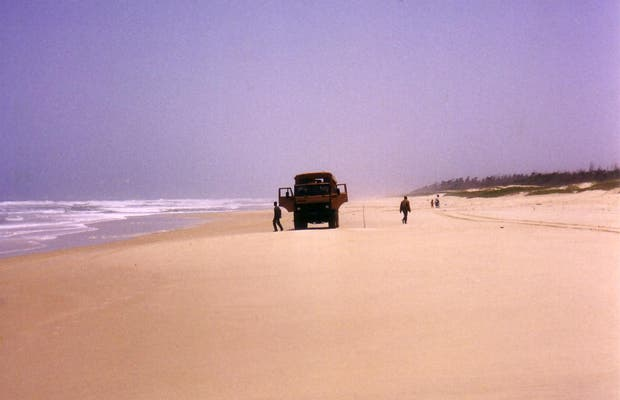 Lake Retba Sand Dunes