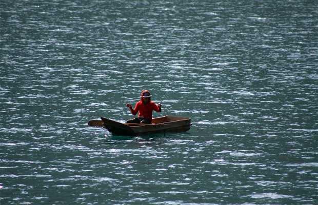 Pesca en el Lago Atitlán