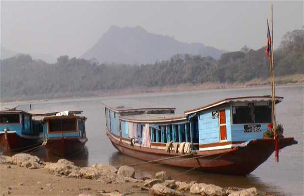 Frontière Thailande - Laos