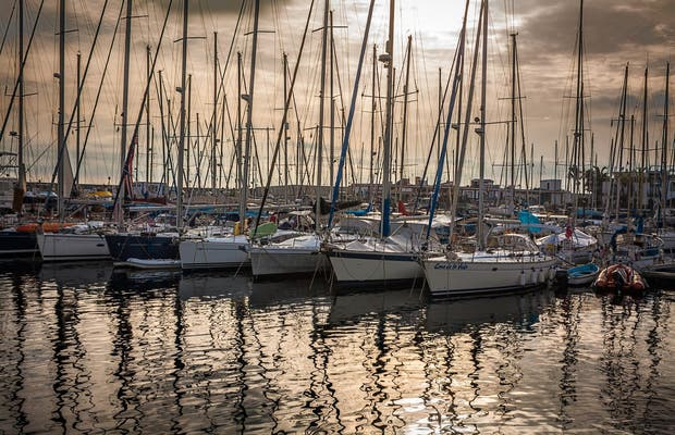 Atardecer en el Puerto de Mogán
