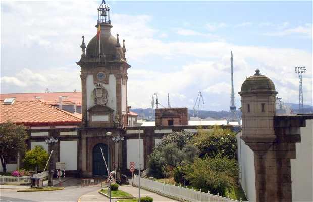 Porta del Dique a Ferrol