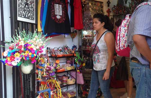 Mercado de artesanías San Miguel Allende