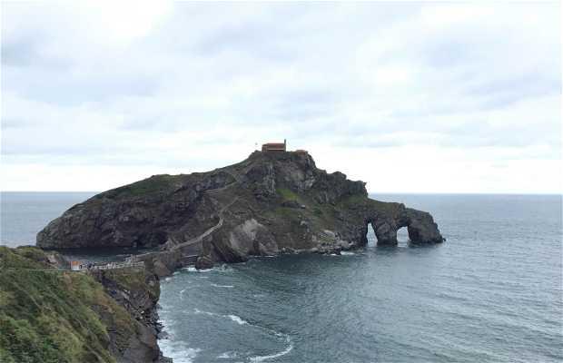 Camino a ermita de Gaztelugatxe