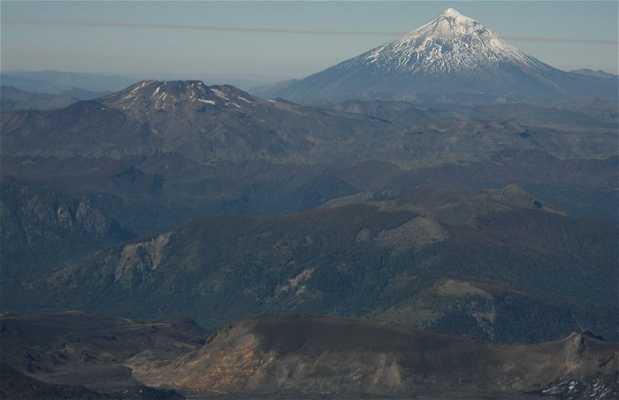 Lanin volcan view